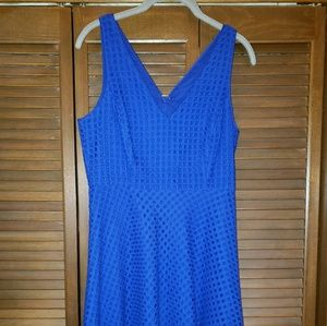 Donna Morgan size 4 blue dress